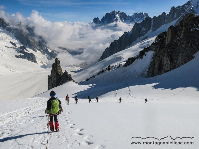 Alcune immagini del Corso di Alpinismo 2018