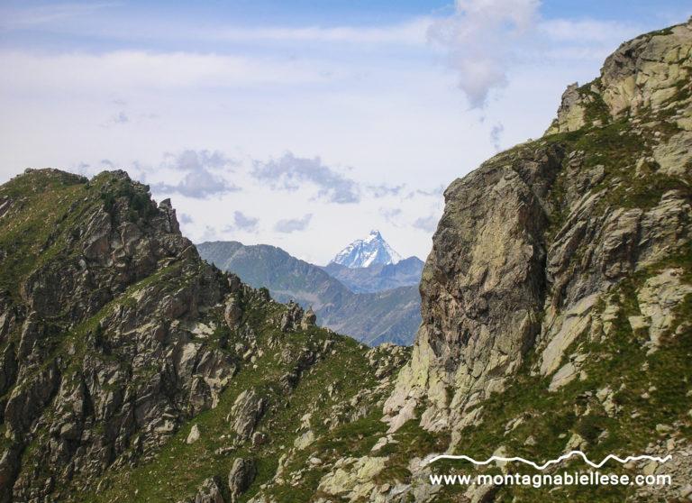 Vista sul Cervino dal Colle Sella
